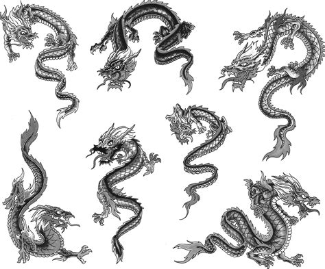 chinese dragon tribal tattoo tribal designs for ideas