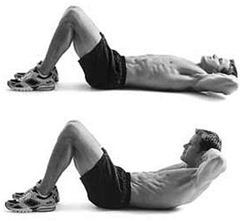 abs workout 2 basic crunches by munfitnessblog