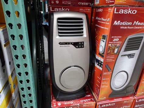 Costco Room Heater by The Heater Features Power Louvers With Wide Oscillation