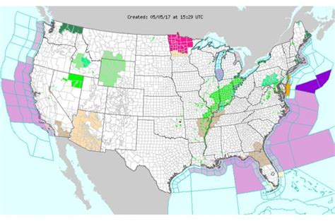 us weather map interactive interactive map of weather hazard warnings in the united
