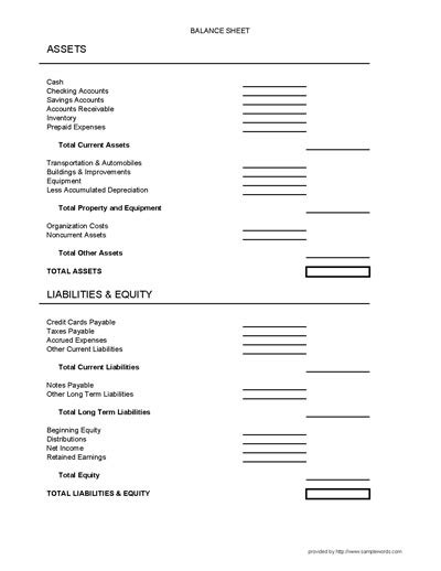 best photos of small business balance sheet form small