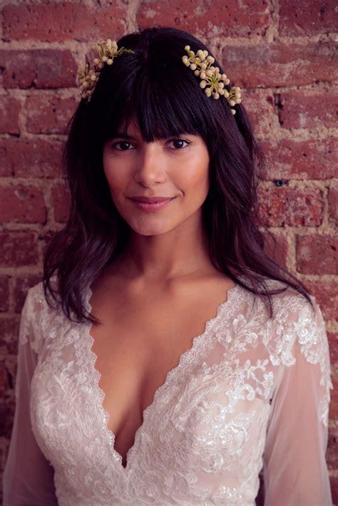 dainty wedding hairstyle ideas spring 2016 dainty details the prettiest wedding hair ideas at