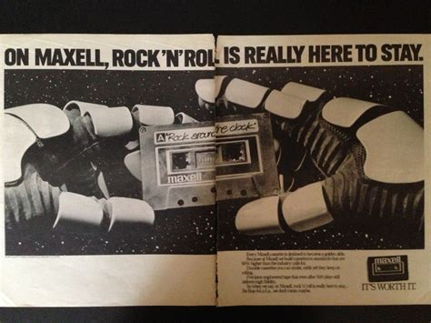 maxell cassette ad 17 best images about vintage blank cassette ads on