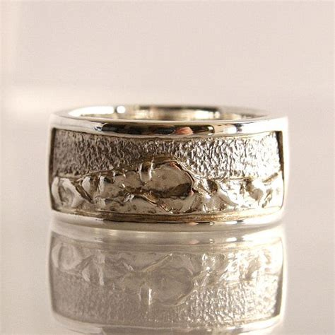 Wedding Bands Colorado by Mountain Wedding Band Sterling Silver Size 12 25