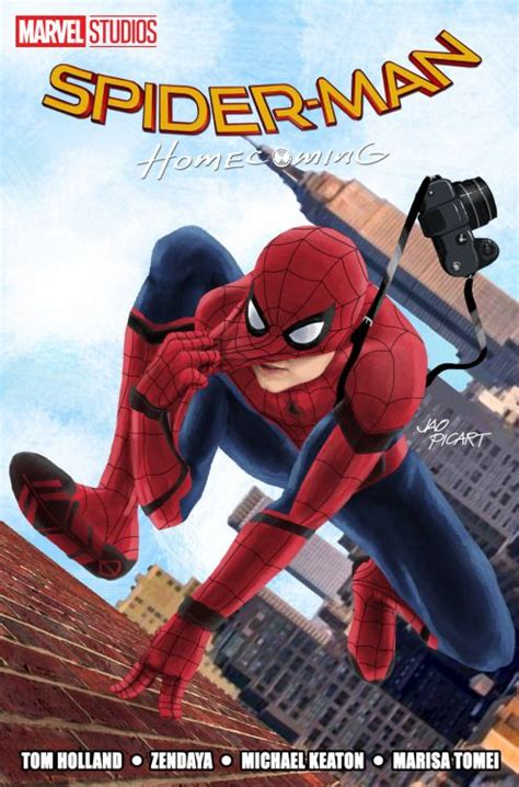 hero homecoming hardcover spider man homecoming by jao picart super heroes spiderman homecoming and spider