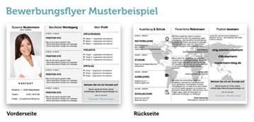 Bewerbungsmappe Template Bewerbungsflyer Kandidatenkick F 252 R Jobmessen Vorlagen