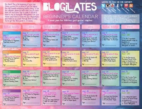 pilates 30 day challenge 25 best ideas about blogilates calendar on