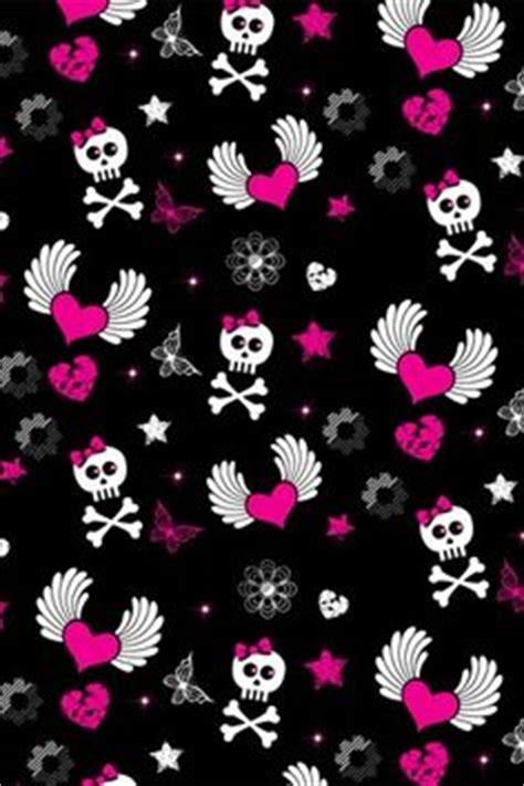 skull pattern iphone wallpaper skull love on pinterest skulls pink halloween and