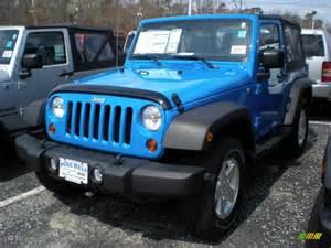 Bright Blue Jeep Wrangler 2011 Cosmos Blue Jeep Wrangler Sport S 4x4 47498785