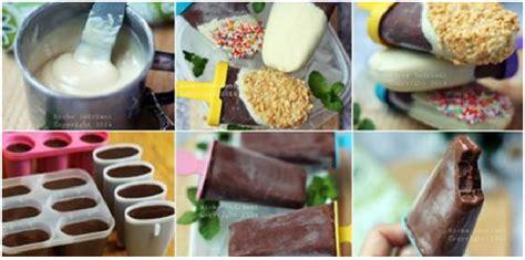 membuat yoghurt rumahan resep es krim popsicles cokelat rumahan lebih hemat