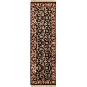 artistic weavers lehi black 2 ft 6 in x 8 ft rug runner