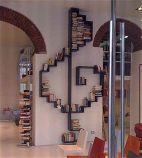 libreria chiave di violino librerie strane e particolari