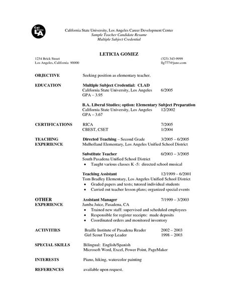sle resume for experienced testing professional 18 best resume images on elementary