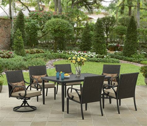 Walmart 6 Patio Set by Outdoor Dining Sets Walmart Seputarindonesa