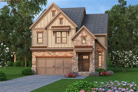 tudor house plan 104 1136 3 bedrm 2138 sq ft home narrow lot plan 2138 square feet 3 bedrooms 2 bathrooms