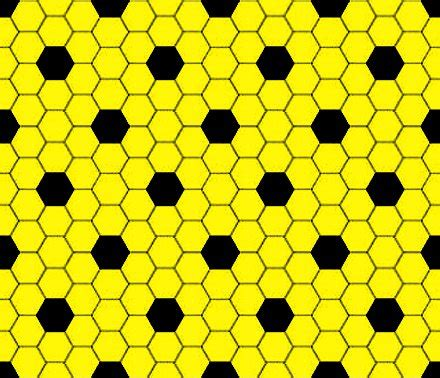 black and yellow pattern wallpaper yellow and black hexagon tile seamless background pattern
