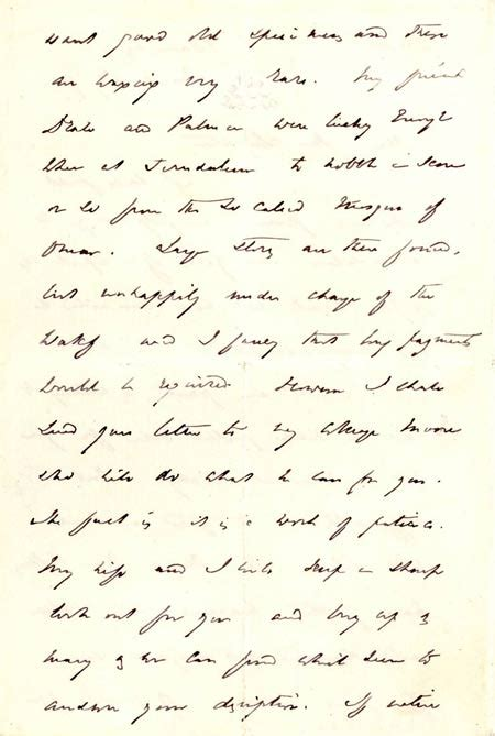 Demand Letter Unanswered Letter To Leighton From Sir Richard Francis Burton