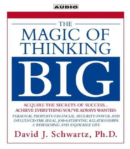 The Magic Of Thinking Success Murah Meriah where success is concerned are n by david j schwartz like success