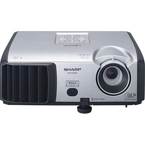 Proyektor Sharp sharp pg f255w dlp projector pg f255w b h photo