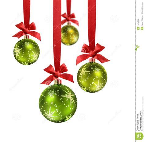 imagenes animadas de bolas de navidad cinta verde del rojo de las bolas de la navidad imagen de