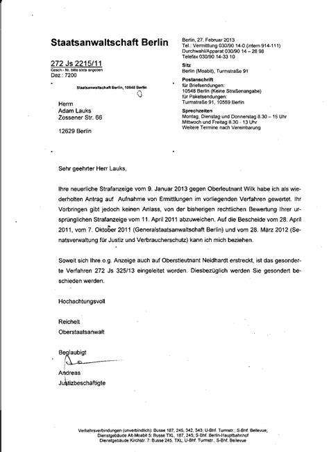 Ferien Bewerbung Muster Offener Brief An Den Stasifreundlichen Oberstaatsanw 196 Lte Reichelt Und Lorke Der Sta Berlin Ii