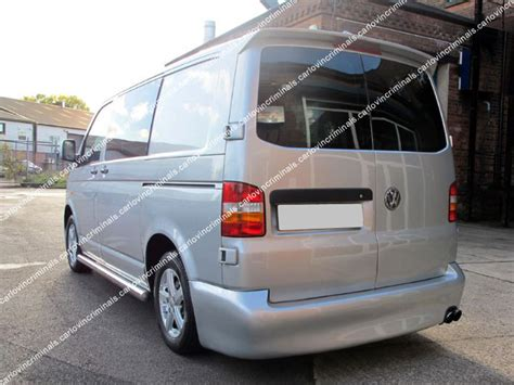 Vw T5 Transporter Barn Doors Rear Spoiler Ebay Barn Door Vw