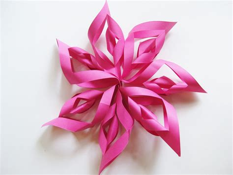 How To Make Decorative Paper - how to make a paper starburst decoration