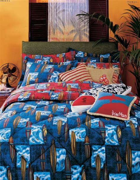 dean miller bedding surfboard bedding tropical kids other metro by