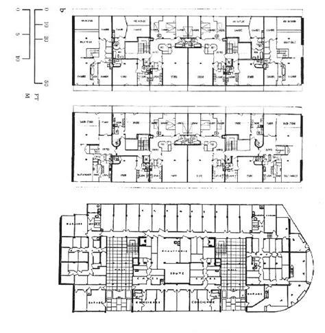 notre dame du haut floor plan le corbusier immeuble clart 233 geneva switzerland 1930