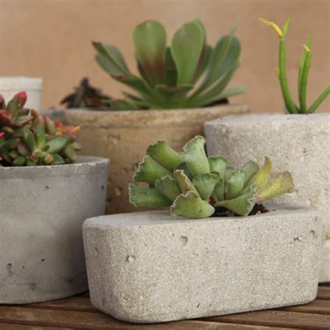 Concrete Planters Diy by Diy Concrete Planter Project Outdoortheme