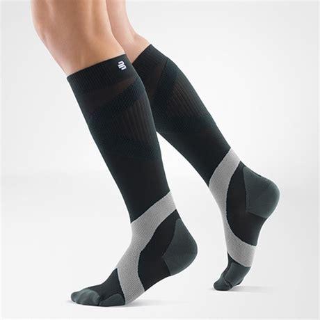 sock coal bauerfeind kompressionsstrumpa compression sock