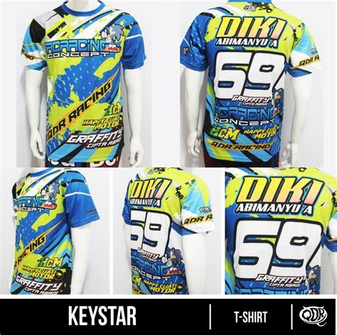 Kaos Sublimation kaos motor diki sublimation print by qita design drag