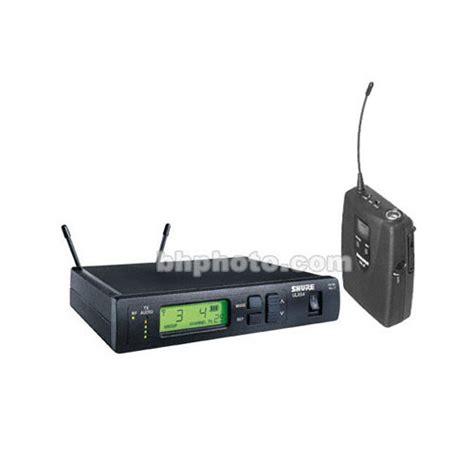 Mic Shure Ulx 4nkoper Alumenium Wireless shure ulx series wireless instrument microphone ulxs14 m1 b h