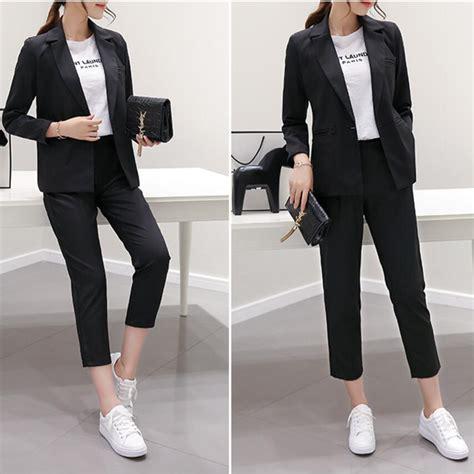 fashion design ladies suit aliexpress com buy 2017 new rushed women evening pant