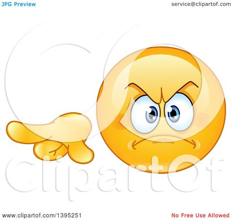 clipart of a cartoon mad yellow smiley face emoticon emoji