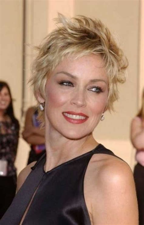 short hairstyles for women over 40 with thin fine hair and round fat face 20 short hair styles for women over 40 short hairstyles