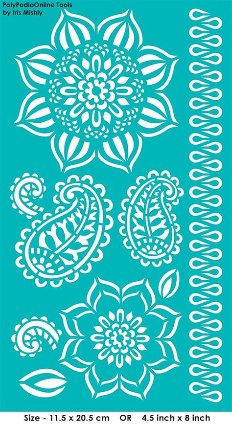fabric pattern stencils ideas stencils are a great way to embellish your designs and