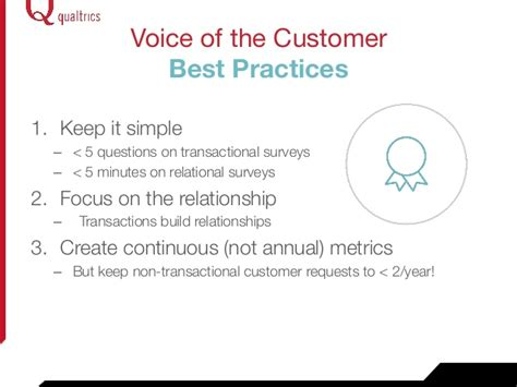 voice of the customer journey from novice to expert books webinar voice of the customer best practices 100814