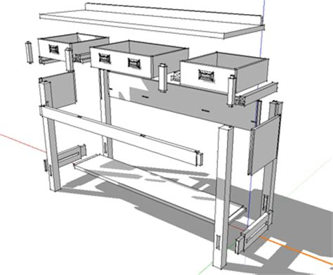 sketchup furniture plans shop layout using sketchup and the 3d warehouse