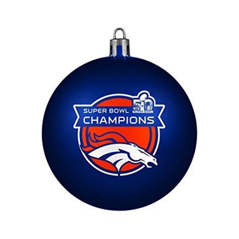 amazon com nfl ornaments denver broncos tree ornaments ornament shop