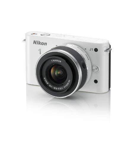 Lensa White Nikon nikon 1 j1 digital system with 10 30mm lens white