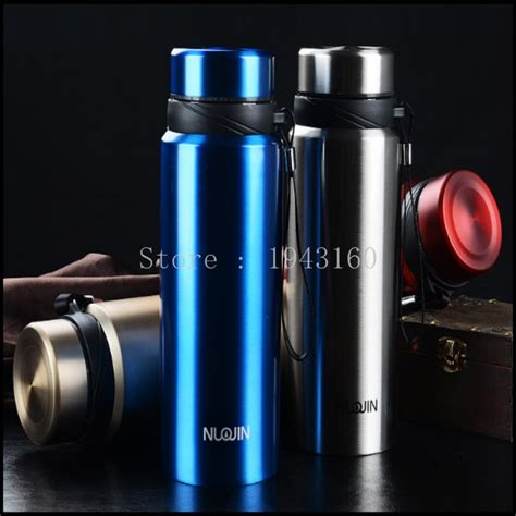 Termos Fleco T97 750ml Stainless Steel 750ml thermos cup 304 stainless steel insulated mug with tea infuser thermo mug garrafa termica