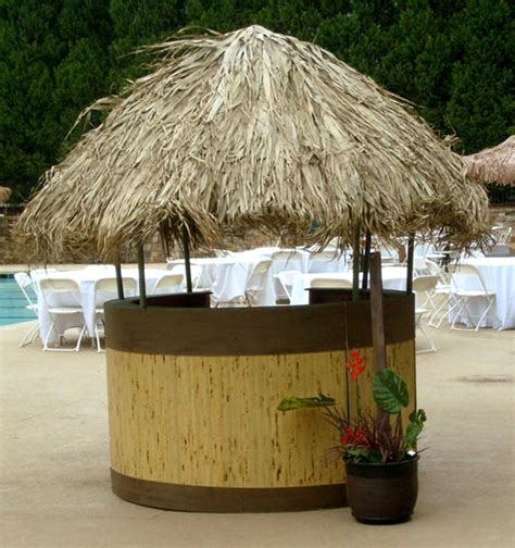 Tropical Tiki Hut All About Props Rent What You Need