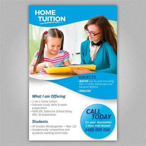 home tuition board design create a home tuition flyer postcard flyer or print contest