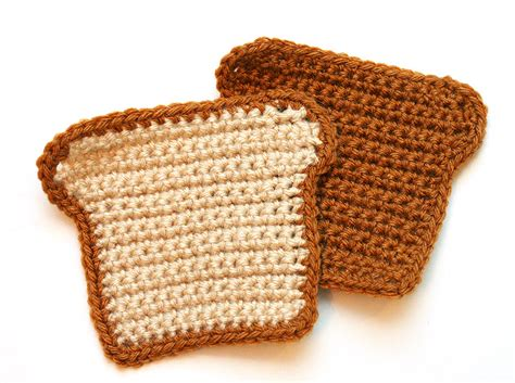Bread Cutter Stitch free crochet pattern tutorial bread loaf letter