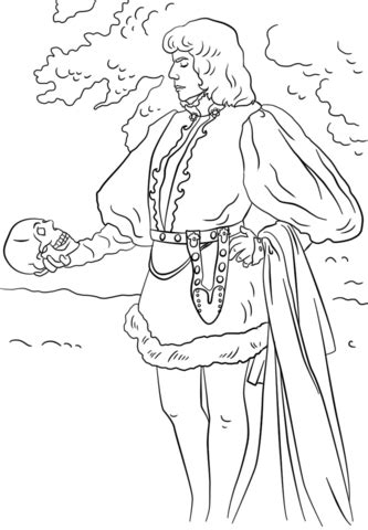 printable version of hamlet hamlet coloring page free printable coloring pages