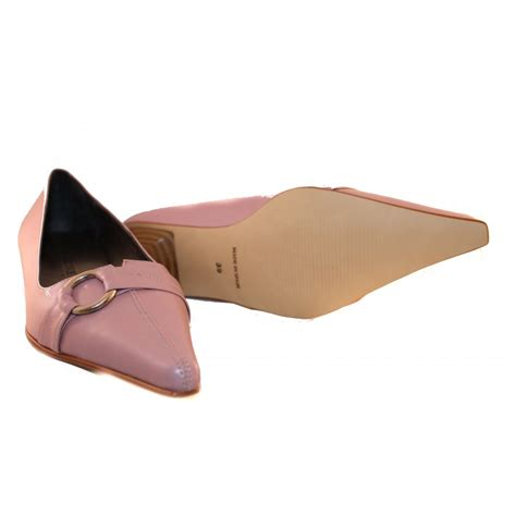 Sandals Galore by Shoes Galore Soft Pink Flat Shoes By Shoes Galore