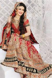 bridal makeup lehnga choli with accessories 10 stylecry bridal dresses wear - Langã Rmliges Brautkleid