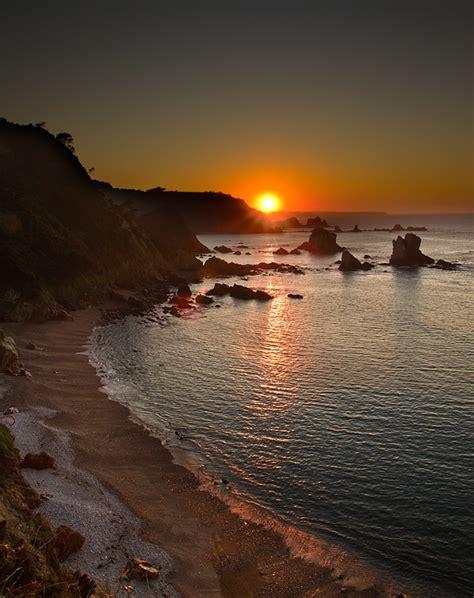 imagenes de paisajes guapos 7 atardeceres espectaculares asturias