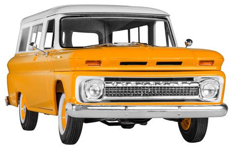 1 8 Paint Engine Scale 66 chevy 174 suburban 1 25 scale plastic model kit from